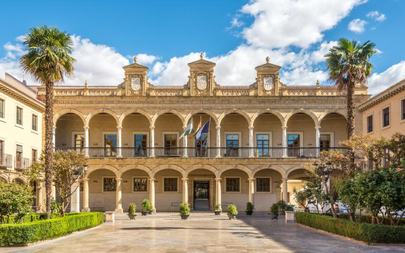 Plaza de las Palomas en Guadix