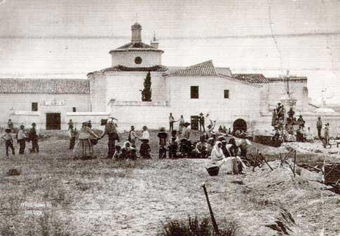 Monasterio de La Rábida antiguamente