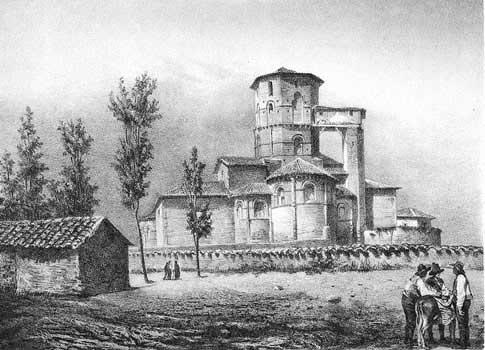 San Martín de Frómista antes de su restauración
