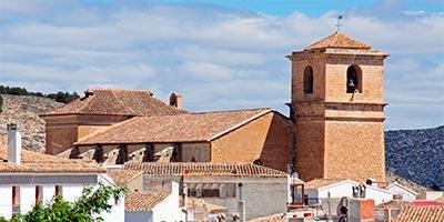 iglesia santiago velez blanco
