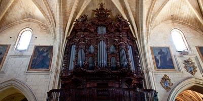 organo iglesia san pedro arcos frontera