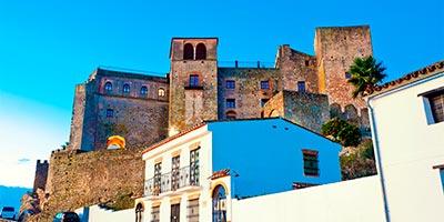 Vista del Castillo de Castellar