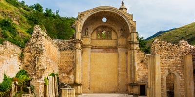 Ruinas de Santa María en Cazorla