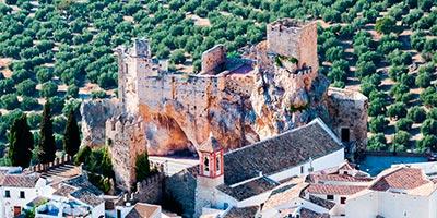 castillo zuheros