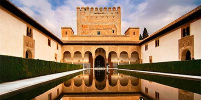 patio arrayanes alhambra
