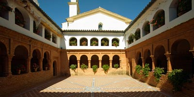 monasterio palos frontera