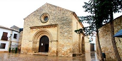 Iglesia de Santa Cruz en Baeza