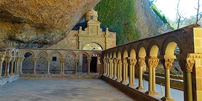 monasterio san juan pena jaca