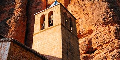 Iglesia de Nuestra Señora del Mallo en Riglos