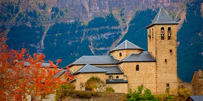 Iglesia Parroquial del Salvador en Torla