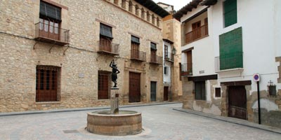 Plaza Mayor de Rubielos de Mora