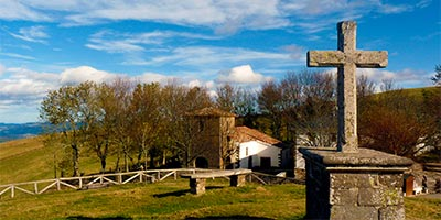 Santuario del Acebo, cerca de Cangas del Narcea