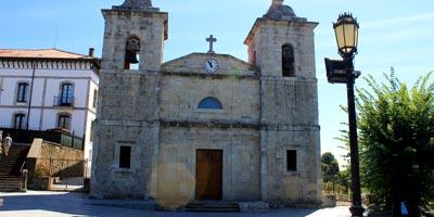 Iglesia Parroquial de Santa María en Colombres