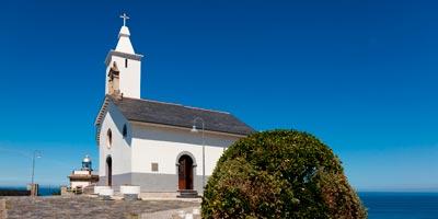 Ermita de La Blanca en Luarca