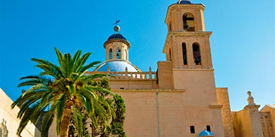 Dónde dormir en Alicante, no en la Concatedral de San Nicolás de Bari