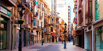 Calle principal de Castellón de la Plana