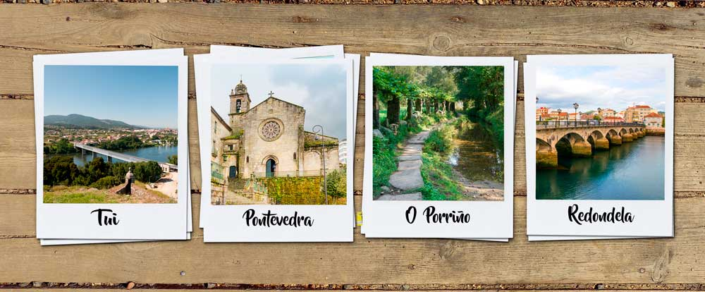 camino portugues Tui Pontevedra Oporrino Redondela