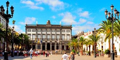 Plaza Mayor de Santa Ana en Las Palmas de Gran Canaria