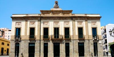 Teatro Ángel Guimerá en Santa Cruz de Tenerife