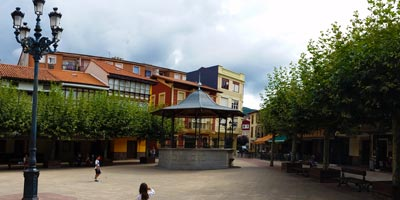 Plaza Mayor de Ampuero