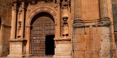 Entrada de la Iglesia de Santa María