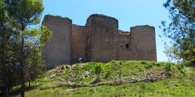 Vista del Castillo de Cifuentes