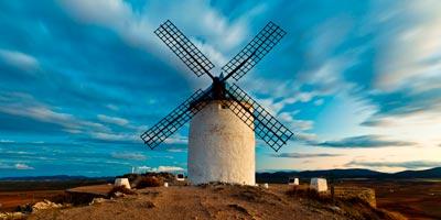Molino de viento manchego