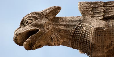 gargola catedral leon