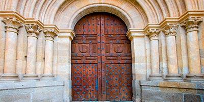 Puerta de la Catedral de Ciudad Rodrigo