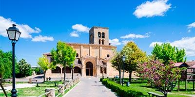iglesia santa maria pena sepulveda