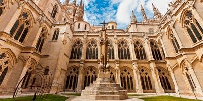 claustro catedral leon