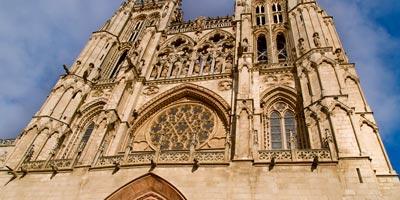 fachada Catedral Burgos espana fascinante