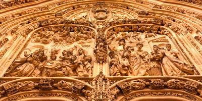 Tímpano de la Catedral Nueva de Salamanca