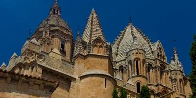 Torre del Gallo en la Catedral Vieja de Salamanca