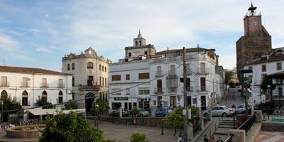 Plaza de España de Alburquerque