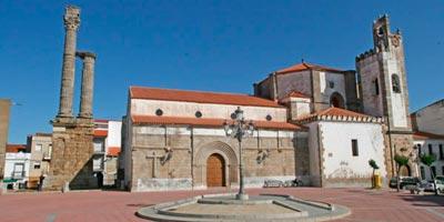 Iglesia parroquial de Nuestra Señora de los Milagros en Zalamea de la Serena