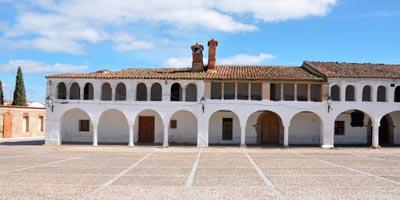 Plaza Mayor de Garrovillas de Alconétar