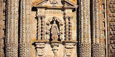 Virgen a la entrada del Monasterio