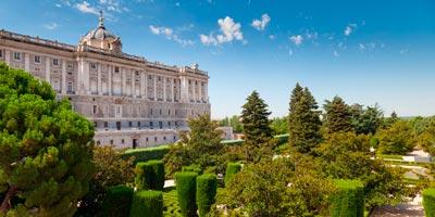 Historia y que ver en el madrid de los austrias for Jardines sabatini conciertos