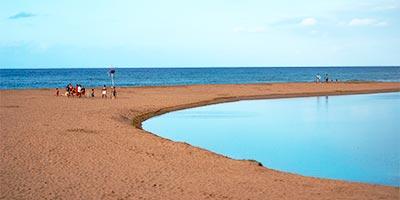 Playa de la Griega de Lastres