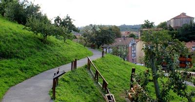 Parque del Centro de Interpretación de la Sidra en Astigarraga