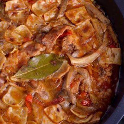 Receta de galianos o gazpachos manchegos, el plato por excelencia de los pastores