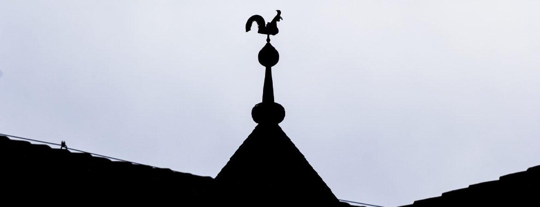 Silueta del Gallo de San Isidoro