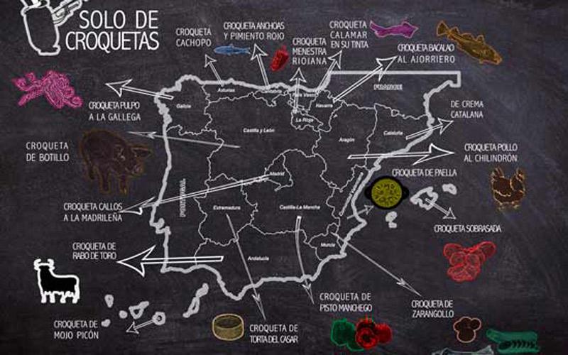 croquetas más originales de España