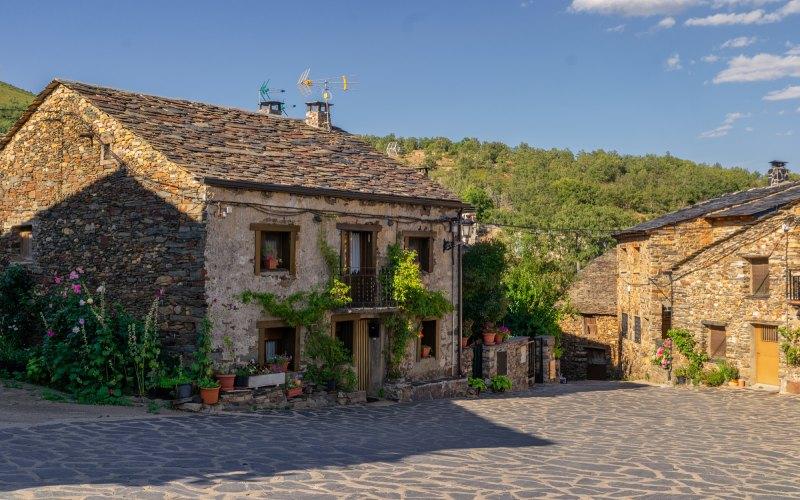 Casa típica de Valverde de los Arroyos