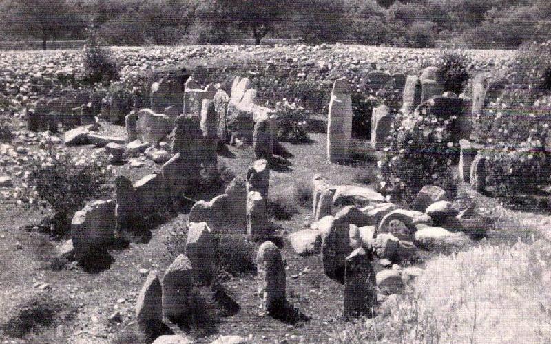 Dolmen de Guadalperal en los años 20