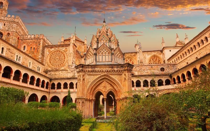 Claustro del Monasterio de Guadalupe