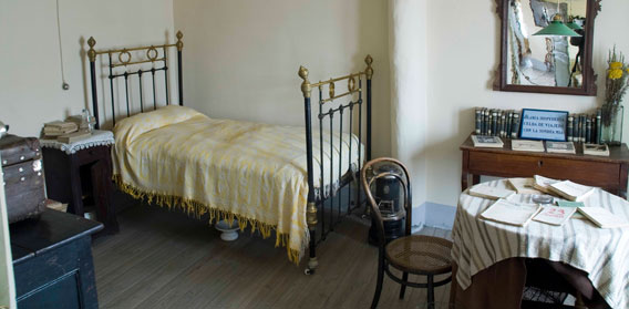 habitacion Casa Machado Segovia