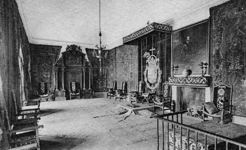 Habitación de Felipe II en San Lorenzo de El Escorial