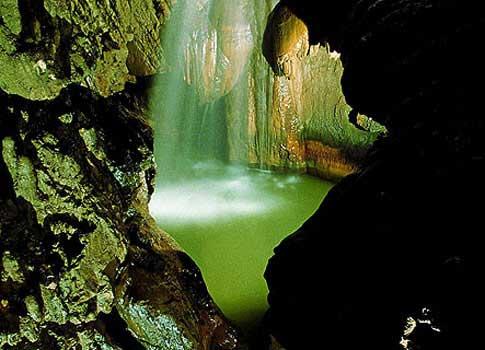 Sala de las Hadas en la Cueva de Valporquero
